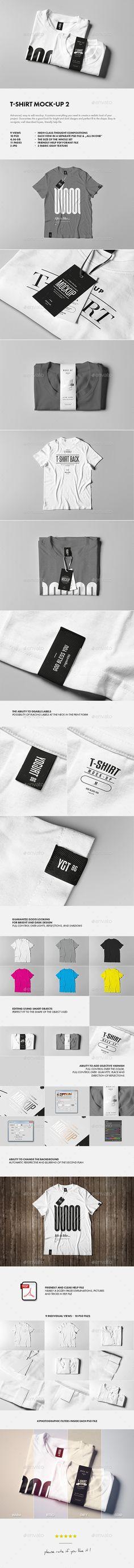 T-Shirt Mock-up #design Download: http://graphicriver.net/item/tshirt-mockup-2/12913805?ref=ksioks