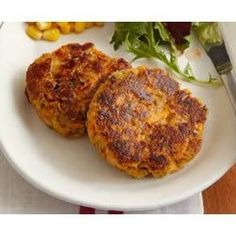 Spicy Tuna fish cakes http://allrecipes.com/recipe/spicy-tuna-fish ...