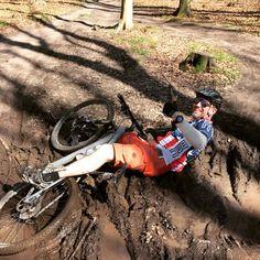 Roling in the mud! Hareskoven, Denmark
