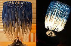 lamparas con material reciclado - Buscar con Google