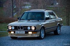 BMW 528i 1982 Kaschmir met • MyE28.com