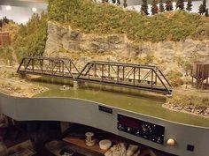 Pelican Bay Railway & Navigation Co. N Scale Train Layout, N Scale Layouts, N Scale Trains, Model Train Layouts, Ho Train Track, Lego Track, Train Tracks, Ho Model Trains, Ho Trains