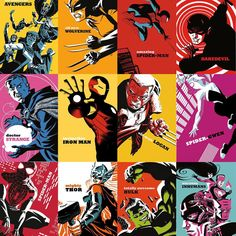 """""""Check out the Michael Cho variant comic covers for our upcoming All-New, All-Different Marvel titles!"""""""