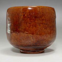 Modern Japanese Ohi pottery Tea Bowl #1910 - CHANOYU