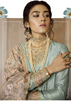 Post wedding dinner/ dawat outfit Inspo for newly wed bride Bollywood Makeup, Eid Dresses, Wedding Dresses, Pakistani Couture, South Indian Bride, Traditional Fashion, Indian Designer Wear, Saree Wedding, Bridal Makeup