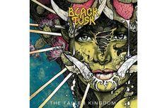 The 50 Greatest Heavy Metal Album Covers - Black Tusk - The Fallen Kingdom (Artwork by John Baizley, from Baroness)