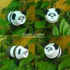Panda craft for Zoo animals unit