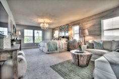 How would you rate the design of this master suite on a scale from 1 to 10?!