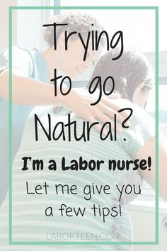 Trying to avoid an epidural and go the natural route? Here's a few natural labor tips I've complied to help a mama out! Just because you are having a baby, doesn't mean you must get an epidural. Learn how to cope with labor naturally if you plan on an un-medicated birth!