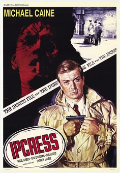 The Ipcress File - #1965 British espionage film starring Michael Caine and based on a novel by Len Deighton. Produced by Harry Saltzman with music by the wonderful John Barry. Respect.