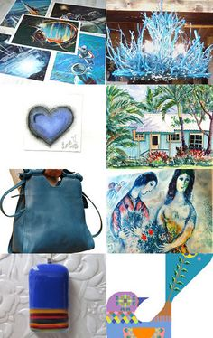 Summer Blues by Lisa Epp on Etsy--Pinned with TreasuryPin.com