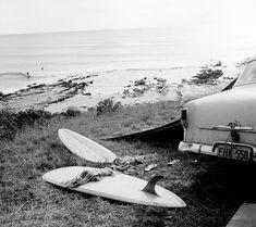 Gone surfing - be back at sunset.  Photograph: Rennie Ellis (1968) #cumberlandlorne #lorne #lovelorne #surf #surfer #greatoceanroad #lornebeach #waves #beach #ocean #lornesurf #rennieellis #coastalliving #relax #escape #discover #weekend #visitvictoria #igaustralia by cumberlandlorne