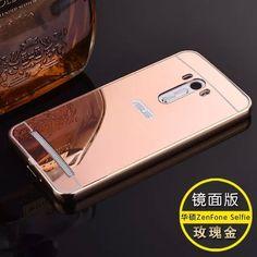 Luxo Metal de alumínio caso híbrido para Asus Zenfone Selfie ZD551KL disco espelho capa protetora para Asus ZD551KL em Telefone bolsas e malas de Telefones e Celulares no AliExpress.com | Alibaba Group