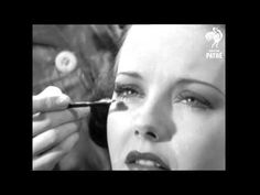 """Hollywood Eyebrows Makeup Tutorial from taken from the original British Pathe newsreel """"Beautifying! Korean Beauty Tips, Beauty Tips For Hair, Beauty Hacks, Beauty Guide, Beauty Care, Vintage Makeup Tutorials, Up Girl, Plain Girl, 1930s Makeup"""