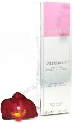 Gatineau Age Benefit™ Integral Regenerating Concentrate - This high-performance anti-aging serum offers a comprehensive response to the appearance of all visible signs of ageing, wrinkles, lack of firmness, dehydration, loss of radiance and pigmentation. Anti Aging Moisturizer, Anti Aging Serum, Best Anti Aging Creams, Dull Skin, Moisturiser, Skin Cream, Anti Wrinkle, Beauty Tips, Beauty Secrets