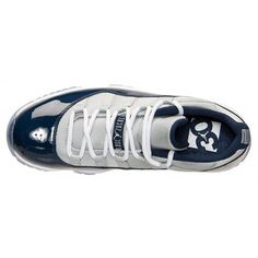 2f7715159cd6 New Air Jordan 11 (XI) Retro Low Grey Mist White-Midnight Navy shoes cheap  sale online.