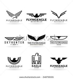 Find eagles stock images in HD and millions of other royalty-free stock photos, illustrations and vectors in the Shutterstock collection. Creative Flyer Design, Creative Flyers, Logo Wings, Mexico Logo, Eagle Silhouette, Harley Davidson Logo, Eagle Wings, Bird Logos, Eagle Logo