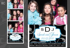 8C Have fun with your #design give it a pop of color! #wedding #photobooth imagecinema.com