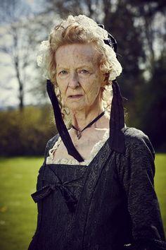 Caroline Blakiston as Agatha Poldark. Mammoth Screen.