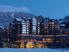 We've an eclectic collection of luxury ski hotels, lodges and resorts in the finest skiing locations in the world. Dream Vacation Spots, Dream Vacations, Luxury Ski Holidays, Whistler, Resort Spa, The Fresh, Skiing, Places To Visit, Canada