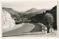 "RPPC Hwy in The Davis Mountains BTWN Alpine and Fort Davis TX Texas 1950s | eBay - This auction is for a Real Photo PostCard showing ""In The Davis Mountains - Between Alpine and Fort Davis, Texas.""  The card is postally unused and in good condition, with light corner wear.  Photo #6-P-260 and ""Kodak Paper"" stampbox."