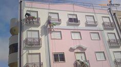 Projecto 14 | Pintura rappel - Pintura exterior de edifício por sistema de rappel