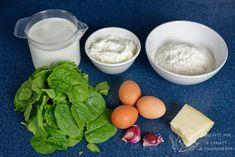 Palačinky se špenátem a ricottou - jednoduchá bezmasá dobrůtka Ricotta, Cantaloupe, Dairy, Cheese, Fruit, Food, Essen, Meals, Yemek