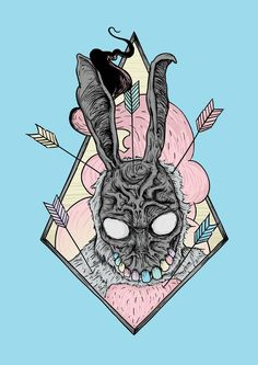 IT CAME FROM THE JUNGLE - DONNIE DARK EASTER by Michael Dos Ramos, via Behance