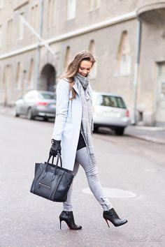 pastel blue coat grey shades punavuori-9745