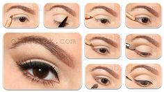 Bridal makeup http://www.makeupbee.com/look.php?look_id=64892