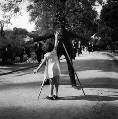 little girl blocking a camera shot