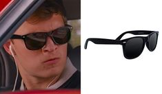 Find out what glasses Baby, the driver, portrayed by Ansel Elgort, wears in the Baby Driver movie: All brands and exact model.