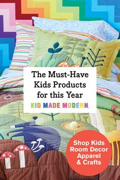 The must-have kids room decor, apparel, and craft kits for this year! Art For Kids, Crafts For Kids, My Bebe, Toddler Fun, Kids Decor, Decor Ideas, Craft Kits, Craft Ideas, Baby Quilts