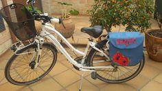 Alforjas personalizada bicicleta.