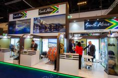 #SouthAfrica #Exhibition #Stand @ #IDEX #AbuDhabi #UAE #MiddleEast designed & built by #GLeventsMiddleEast