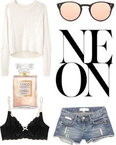 neon by seasalt featuring chanel fragrance