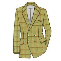 Teviot Green Red Check Tweed 974 Tartan History, Clans and Products - Teviot Green Red Check Tweed 974 | ScotlandShop - Tailored Tartan Clothing & Interiors