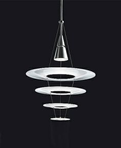 Louis Poulsen - Enigma designed by the Japanese lighting designer Shoichi Uchiyama Pendant Chandelier, Modern Chandelier, Chandeliers, Pendant Lighting, Light Pendant, Interior Lighting, Modern Lighting, Lighting Design, Japanese Lighting