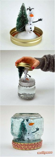 Christmas Crafts How to Make A Snow Globe.jpg 5651,600 pixels