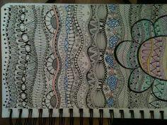 Waves of doodles