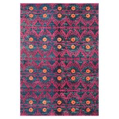 Add a touch of bohemian style to your living room or bedroom with this rug, featuring a colourful exotic design. Pair with mismatched scatter cushions and lo...