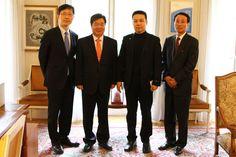 한위클리, 주불대사관에 한국관 건립 기금 3,276유로 전달 [한위클리, 2012-04-23]