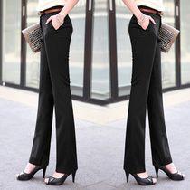 High Quality Pants New summer dress 2014 Fashion  high Waist Street Overalls formal Work Pants Plus Size Women Pants XXS-5XL
