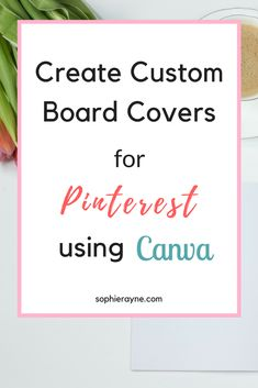 Do you want perfect, on-brand board covers for your Pinterest profile? Check out this how-to guide on how you can create custom board covers for your Pinterest boards using Canva. #pinterest #boardcover #blogging Social Media Automation, Social Media Management Tools, Best Business Ideas, Business Tips, Online Business, More Followers On Instagram, How To Get Clients, Brand Board, Blogging For Beginners