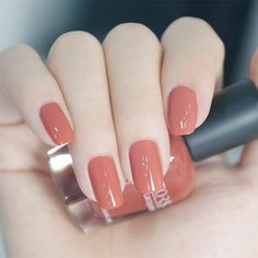 Stylish Nails, Trendy Nails, Cute Nails, Beautiful Nail Art, Gorgeous Nails, Hair And Nails, My Nails, Fall Nails, Nail Paint Shades