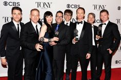 avid Binder, Lena Hall, Michael Mayer, Neil Patrick Harris and the cast and crew of 'Hedwig and the Angry Inch' pose in the press room during the 68th Annual Tony Awards on June 8, 2014 in New York City.   Credit: Getty Images for Tony Awards Pro