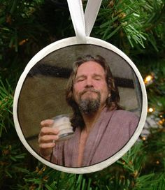 The Dude Ornament by UberDorkDesigns on Etsy