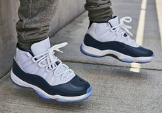 b442f5225d8 2017 Air Jordan 11 Win Like 82 White University Blue Midnight Navy-2 Air  Jordan