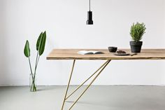 May we introduce to you our new Oak Table Slim. We designed a new table frame…