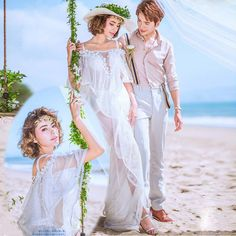New new arrival photo shoot photographed photographic portrait of the word trailing white wedding photo studio theme clothing